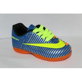 Chuteira Nike Mercurial Azul Bebe - Chuteiras no Mercado Livre Brasil c4d0fbc8e11ea