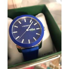 Reloj Lacoste Para Caballero Elegate Y Sport Color Azul
