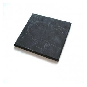 Shungite, Schungit, Piedra Sin Pulir Baldosas De 10x10cm Shu