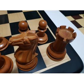 Jogo De Xadrez Reprodução Jaques Antigo Com Defeito