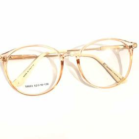 8c299810154ed Óculos P grau Armação Sem Grau Redondo Acetato Varis Cores