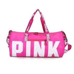 Bolsas Pink Nylon Impermeables
