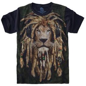 Camiseta Reggae Element Zion Preta - Camisetas e Blusas Manga Curta ... 40c1c620a08