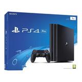 Playstation 4 Pro Ps4 1tb Sellado Techmovil