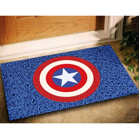 Tapete Geek Capitão América Marvel 60x40 - Az Royal