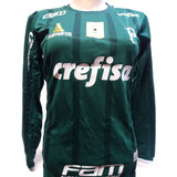 b195d37559 Camisa Palmeiras Manga Longa - Futebol no Mercado Livre Brasil