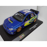 Perudiecast Bburago Subaru 2007 World Rally Team P. Solberg