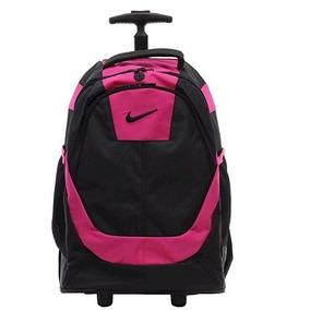 Mochila Con Ruedas Nike Para Mujer Escolar Viajera Deportiva