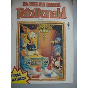 Gibi 40 Anos Da Revista Pato Donald Edição Histórica