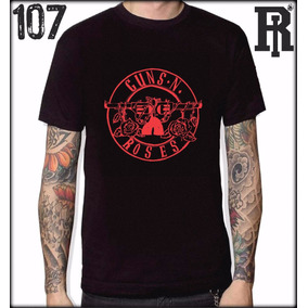 Guns N Roses Remera Logos Y Dibujos - Remeras Manga Corta de Hombre ... 0fdee24972a1b