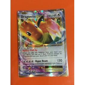 Carta Dragonite Ex 72/108 Xy12 Evolutions + Sleeve