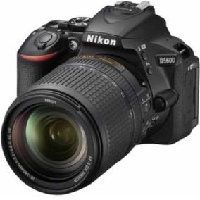 Camara Nikon D5600 Kit Af-s 18-140 Vr