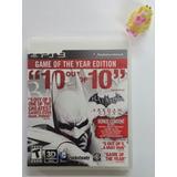 Batman Arkham City Goty Ps3 Play Station 3 Garantizado.