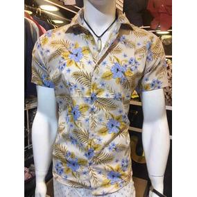 Camisa Florida - Camisa Masculino em São Paulo no Mercado Livre Brasil 0b81aae680490
