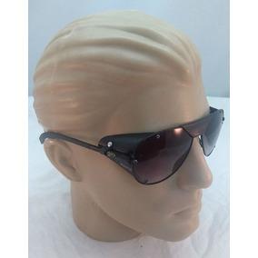 4afa5cdacce4d Óculos De Sol Aviador Com Proteção Lateral Silver mirror - Óculos no ...