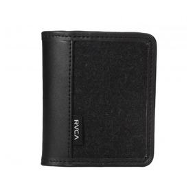 Cartera De Piel Para Tarjetas Carded Wallet Volcom Oferta