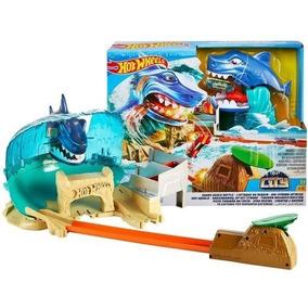 Pista Hot Wheels - City - Ataque Tubarão - Fnb21 Mattel