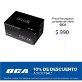 Alarma Auto Deluxe Sensor Shock + 4 Bloqueos