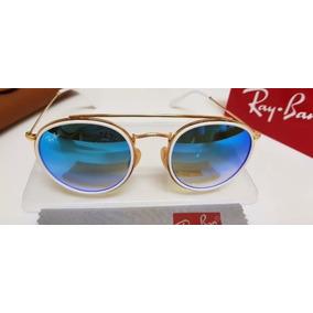 1c0967f39e117 Oculos Rayban Redondo Azul Ray Ban Round - Óculos no Mercado Livre ...