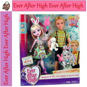 Ever After High Bunny Blanc E Alistair Carnival Date Lot 7