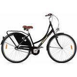 Bicicleta Mobele Classic Oma-a Aro 700 Nexus Preta