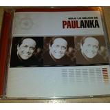 Cd Original Nuevo Cantante Paul Anka Solo Lo Mejor Bs 9.900