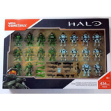 Halo Figuras Edicion Especial Mega Construx 434 Pzs