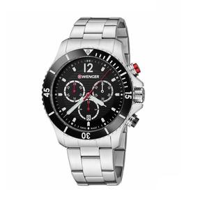 Relógio De Pulso Suíço Wenger Seaforce Cronógrafo 01.0643109