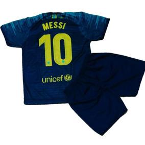 Camiseta Barcelona Infantil Do Messi - Camisetas e Blusas no Mercado ... 20eba25766249