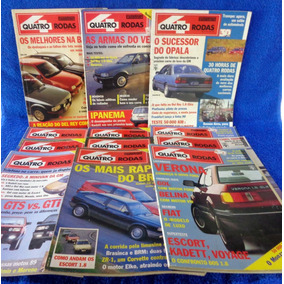 Lote Revista Quatro Rodas (12) N°351,342,348,350,349,353...