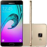 Samsung Galaxy A5 2016 Câm 13mp Dourado 16gb (vitrine)