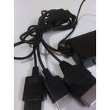 Cable Rf Nintendo 64 Ps2 Y Xbox 3 En 1 De 2.metros De Largo