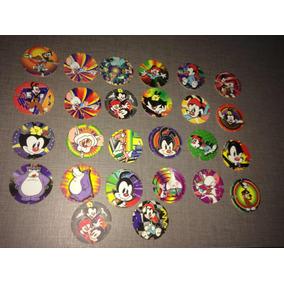 Lote 50 Tazo Animaniacs Elma Chips Coleção