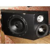 2 Medios Sm Audio De 8 , 1 Bajo Orion Optirpro De 12