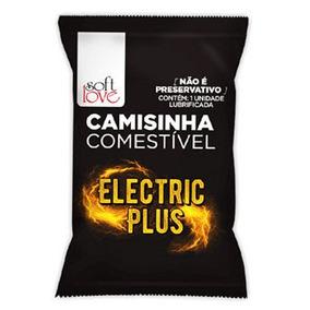 Camisinha Comestível Eletric Plus - 1 Unidade