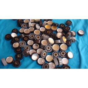 Lote 105 Botão Knobs De Rádio Antigo
