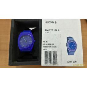 Nixon Time Teller Purple Novo Na Caixa