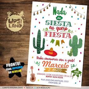 Convite Festa Mexicana - Festas no Mercado Livre Brasil 03d6855798b