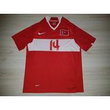 Camisa Da Seleção Da Turquia 2008 Nike  14 Arda Tamanho Xs 83b2578a63bb3