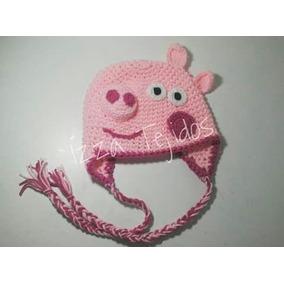 Gorro Tejido Peppa Pig - Ropa y Accesorios en Mercado Libre Argentina 478db6c9a66