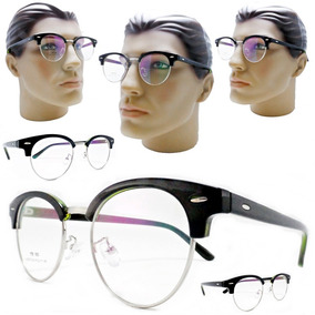 6f4d7d234900a Óculos De Grau Transparente Metal - Óculos Prateado no Mercado Livre ...