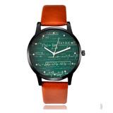 Reloj Hombres Modelos Matematicos Unisex