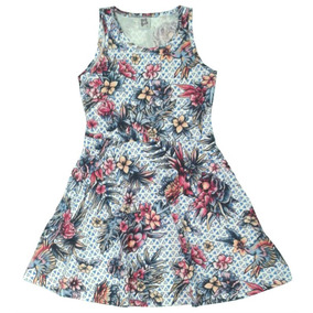 Kit Lote 4 Vestido Infantil Feminino Roupa Menina Atacado