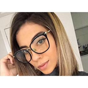 eeb9b982e2605 Óculos P grau Femíneo Gatinho Black Nova Coleção Promoção. R  60