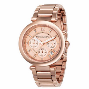 Relógio Michael Kors Mk5277 Rose Gold Tone Chronograph Watch ... fce50d40fd