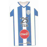 5986 Claro 25 Reais Futebol Camisa Azul E Branca 9961f1456c3b6