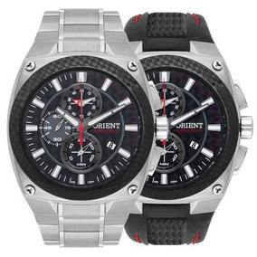 Relógio Orient Masculino Mtftc001 P1sx Speedtech Cronógrafo
