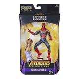 Figura Marvel Legends 15cm Homem Aranha Baf Thanos