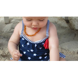 Collar De Ambar Báltico Para Dentición Bebés (unisex)