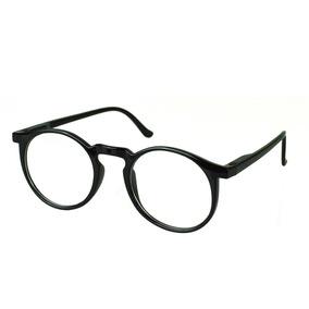 f77920c0ba7f7 Óculos De Grau Masculino Redondo Vintage Original Preto62019